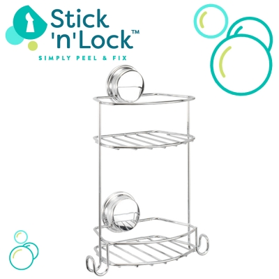 Stick 'n' Lock™ Baskets - Easy Install!