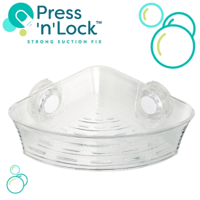 Press 'n' Lock™ Baskets - No Drill!